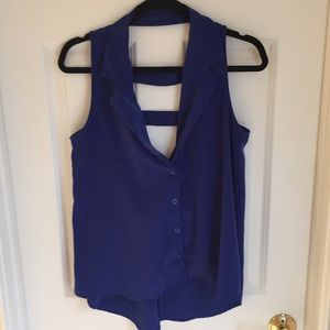 Tops - Button up tank top